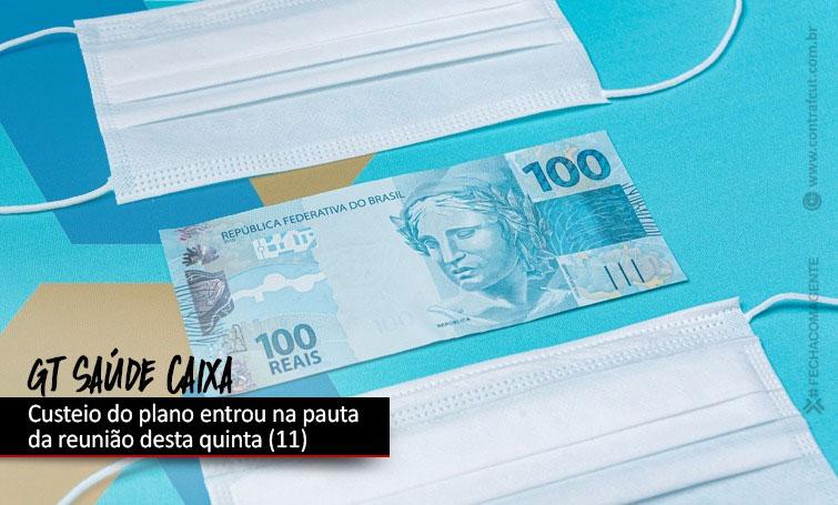 GT Saúde Caixa discute questões específicas sobre custeio do plano
