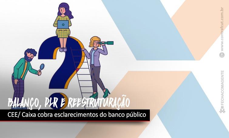 Contraf-CUT cobra da Caixa informações sobre balanço e solicita antecipação da PLR