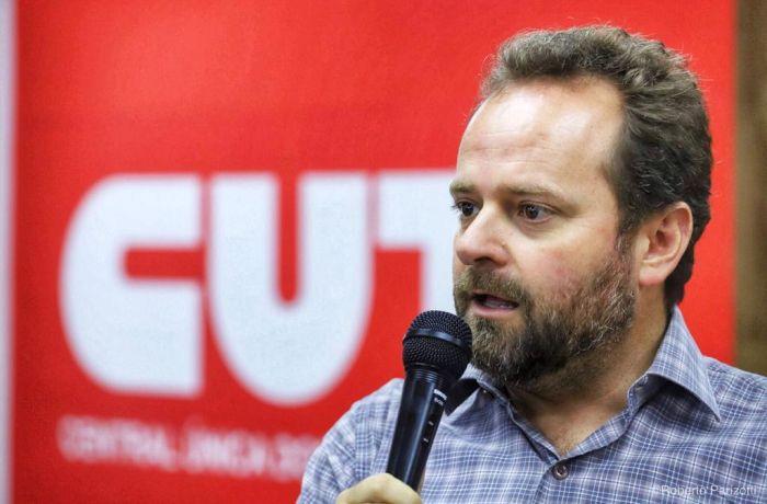 Roni Barbosa é secretário de Comunicação da CUT Nacional - Foto: Roberto Parizotti