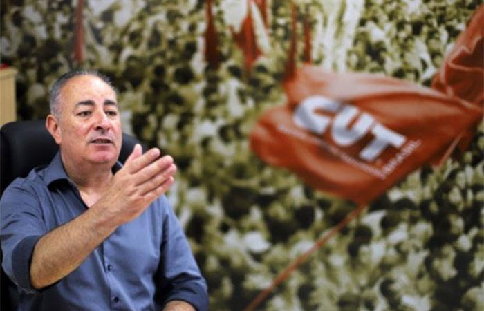 Sérgio Nobre é presidente da CUT Nacional