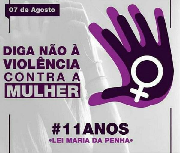 Lei Maria da Penha completa 11 anos nesta segunda-feira (7/08)