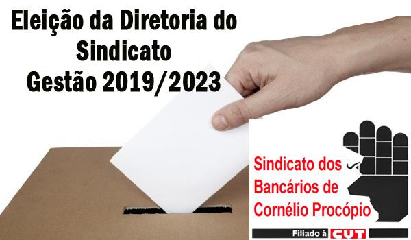 Assembleia dia 25/02 abre processo eleitoral do Sindicato