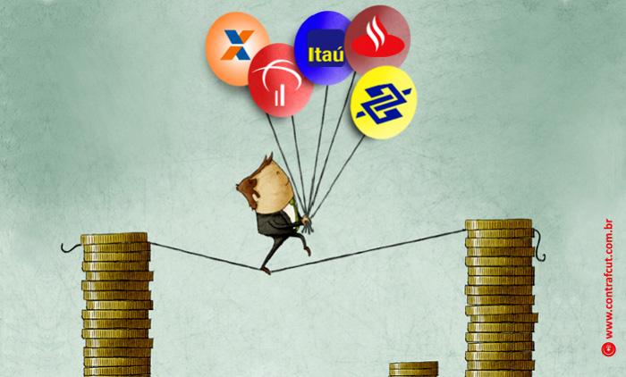 Cinco maiores bancos do País lucram R$ 50 bilhões juntos no em 2019
