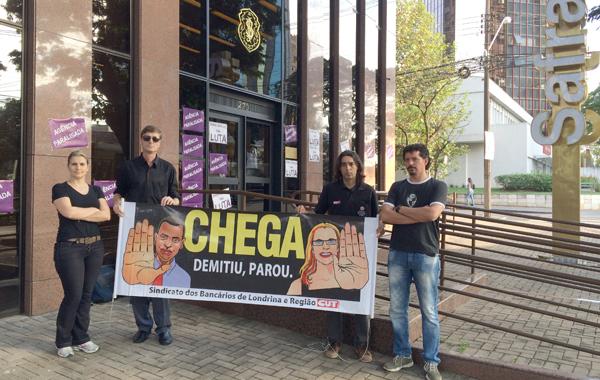 Em pouco mais de três meses, o Banco Safra demitiu seis funcionários da agência de Londrina