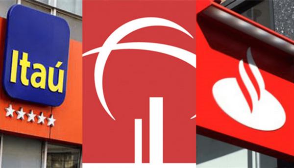 Itaú, Bradesco e Santander pagam R$ 36,8 bilhões em dividendos para acionistas