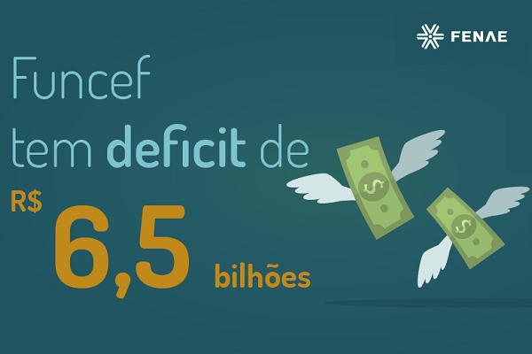 Funcef apresenta balanço com déficit de R$ 6,5 bilhões