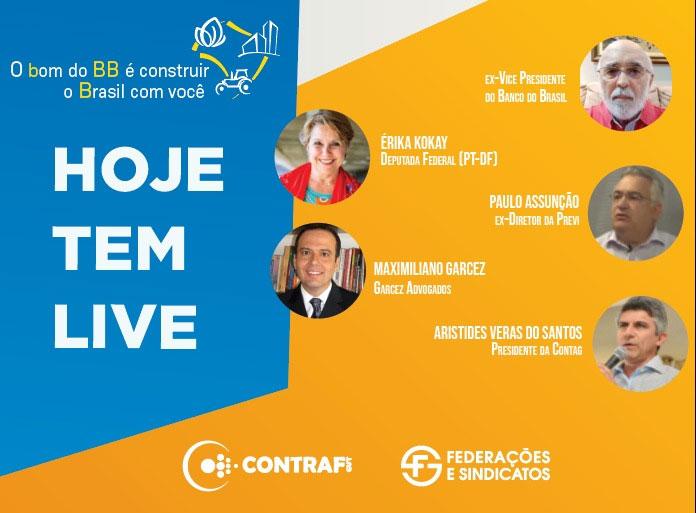Seminário nesta quarta (14) debate ataques ao Banco do Brasil