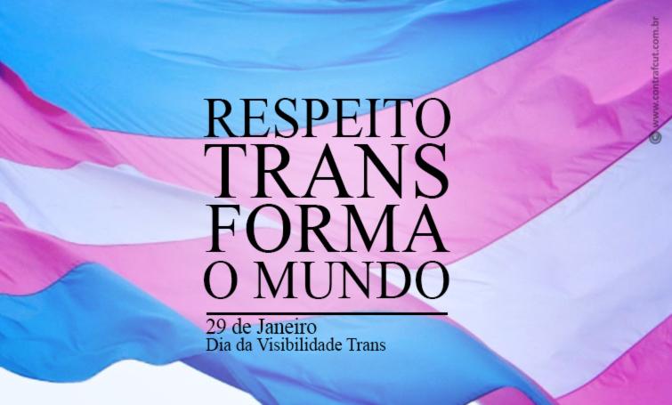 29 de janeiro é o Dia da Visibilidade Trans