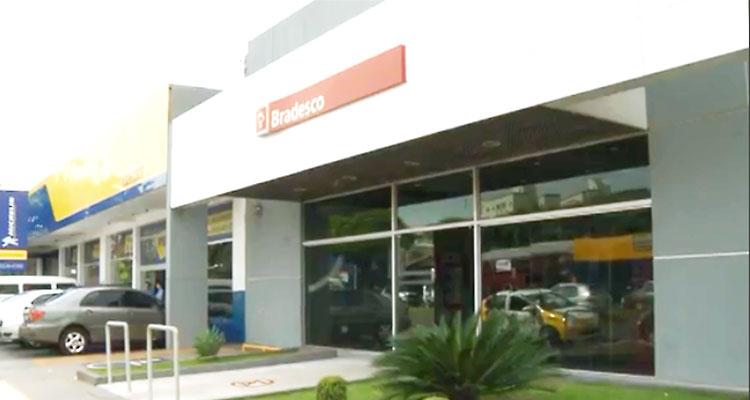 A agência da Av. 10 de Dezembro foi uma das três fechadas pelo Bradesco em Londrina