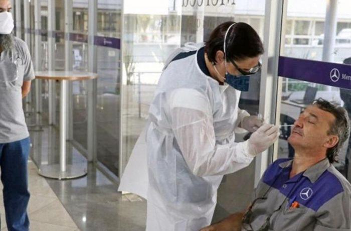 Metalúrgicos no ABC conquistam teste de Covid-19 nos trabalhadores da Mercedes - Foto: Adonis Guerra/SMABC