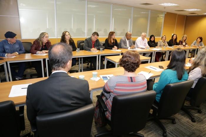 O Diretor da Fetec-CUT/PR, Jair Sambudio, participou da reunião