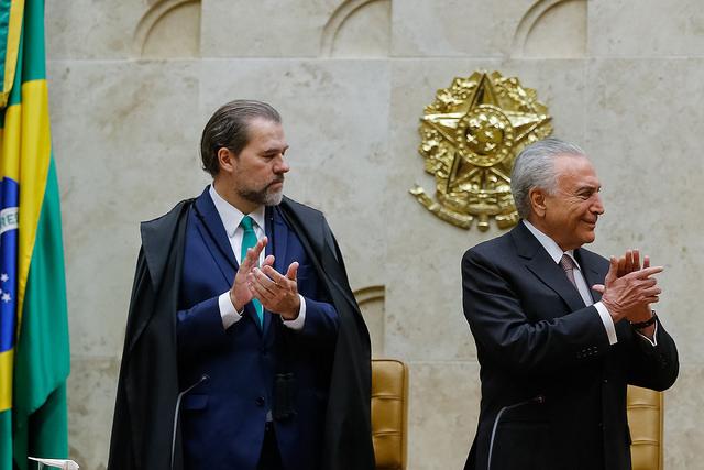 Magistrados do STF negociaram o aumento de 16% com Michel Temer em troca do fim do auxílio-moradia para juízes / César Itiberê/PR